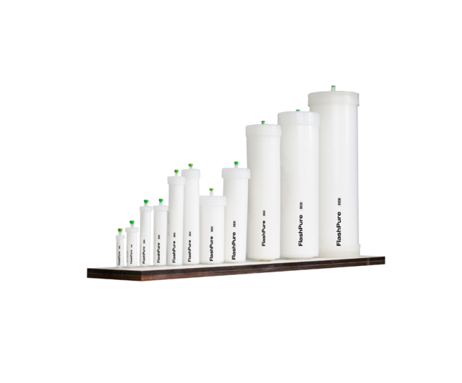 Chromatography cartridges and columns - FlashPure